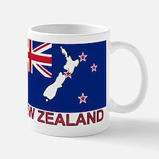 New Zealand Flag (labeled) Mug