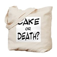 Unique Cake death Tote Bag
