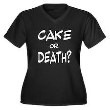 Eddie izzard Women's Plus Size V-Neck Dark T-Shirt