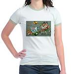 Happy Irish New Year Jr. Ringer T-Shirt
