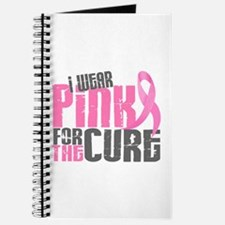 I Wear Pink For The Cure 6.2 Journal