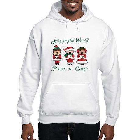 Christmas Caroler Hooded Sweatshirt
