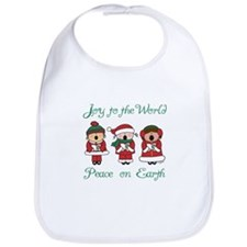 Christmas Caroler Bib