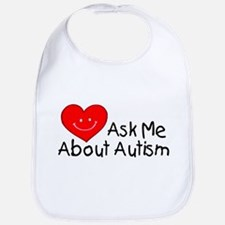 Ask Me About Autism Bib