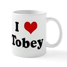 I Love Tobey Mug