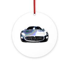 Maserati Ornament (Round)
