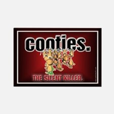 Cooties... Rectangle Magnet
