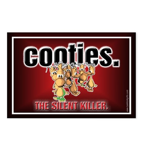 Cooties... Postcards (Package of 8)