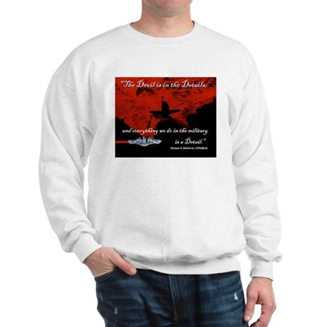 Devil in the Details Sweatshirt