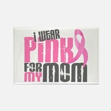 I Wear Pink For My Mom 6.2 Rectangle Magnet (10 pa