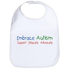 Embrace Autism Bib