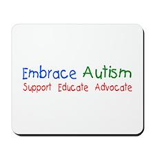 Embrace Autism Mousepad
