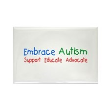 Embrace Autism Rectangle Magnet