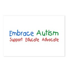 Embrace Autism Postcards (Package of 8)