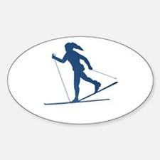 XC Oval Decal