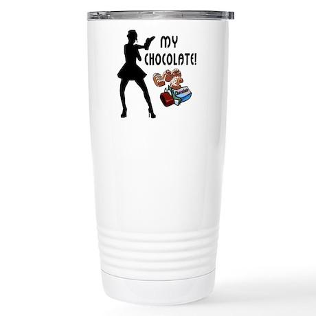 My Chocolate Stainless Steel Travel Mug