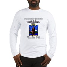 Vers SSN 642 Blue Enlisted Long Sleeve T-Shirt