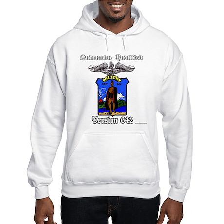 Vers SSN 642 Blue Enlisted Hooded Sweatshirt