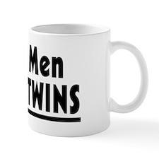 Twins - Real Men Make Twins Small Mugs