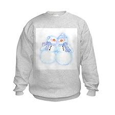 Winter Snowman Joy Sweatshirt