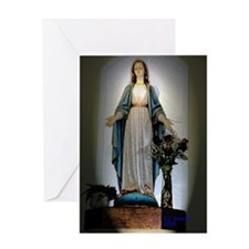 Mother Mary Greeting Cards