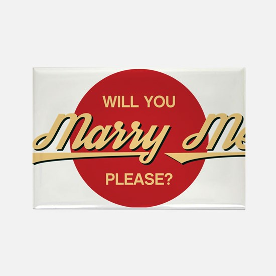 Will you marry me please? Magnets