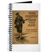 Your Country Needs You Journal