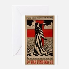 WWII Red Cross War Fund Greeting Card
