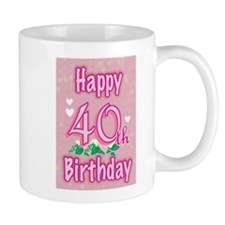 Cute 40th birthday Mug