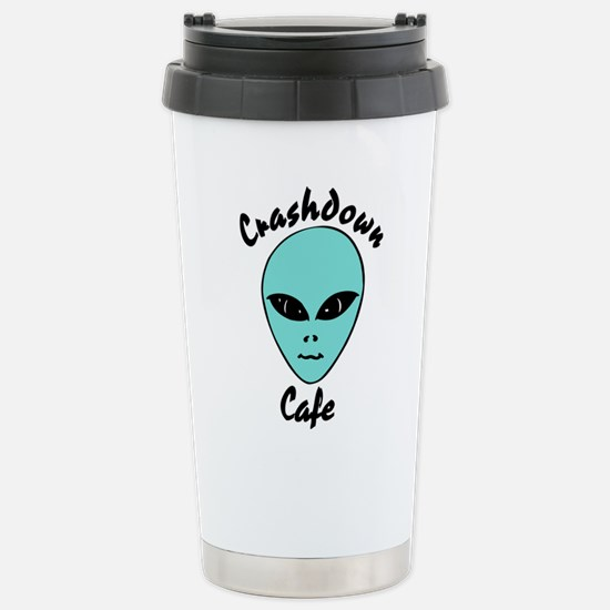 Crashdown Cafe Stainless Steel Travel Mug