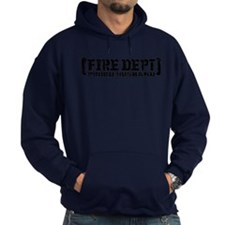 Proud Husband Fire Dept Hoodie