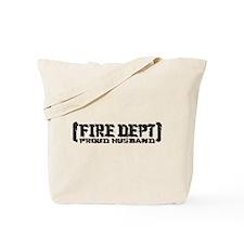 Proud Husband Fire Dept Tote Bag