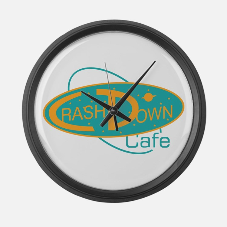 Crashdown Cafe Large Wall Clock