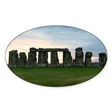 Stonehenge :: Oval Decal