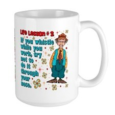Life Lesson #2 Mug
