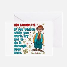 Life Lesson #2 Greeting Card