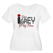 I Wear Grey For My Mom 32 T-Shirt