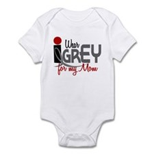 I Wear Grey For My Mom 32 Infant Bodysuit
