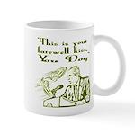 Bush's Farewell Kiss Mug