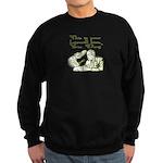 Bush's Farewell Kiss Sweatshirt (dark)