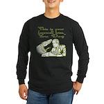 Bush's Farewell Kiss Long Sleeve Dark T-Shirt