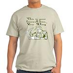 Bush's Farewell Kiss Light T-Shirt