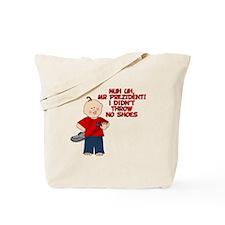 Shoe Kid Tote Bag