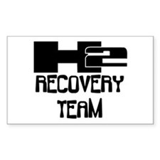 H2 Recovery Team Rectangle Sticker 10 pk)