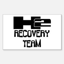 H2 Recovery Team Rectangle Decal