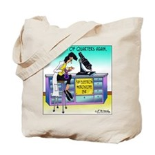 Pay Electron Microscope Tote Bag