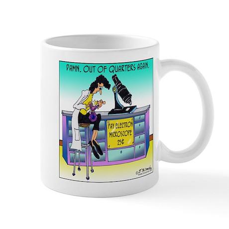 Pay Electron Microscope Mug