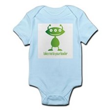 Take Me To Your Leader Infant Bodysuit