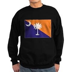 Orange Purple SC Flag Sweatshirt
