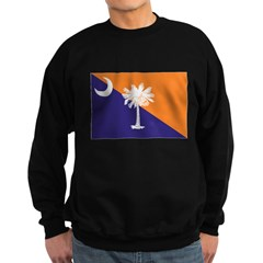 Orange Purple SC Flag Sweatshirt (dark)